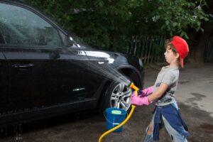 サビ対策の基本 洗車