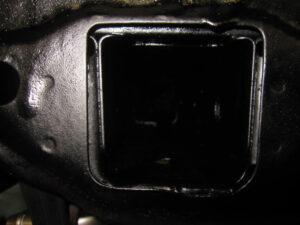 CP9Aランエボ モノコックパネル内部 サビ止め