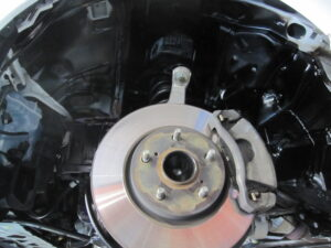 レクサス IS250 タイヤハウス防錆